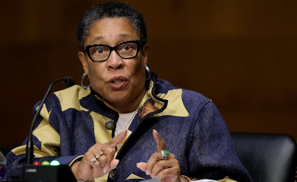 Housing and Urban Development Secretary Marcia Fudge withdrew a Trump administration rule that would discriminate against transgender people. (Photo: Chip Somodevilla/Getty Images)