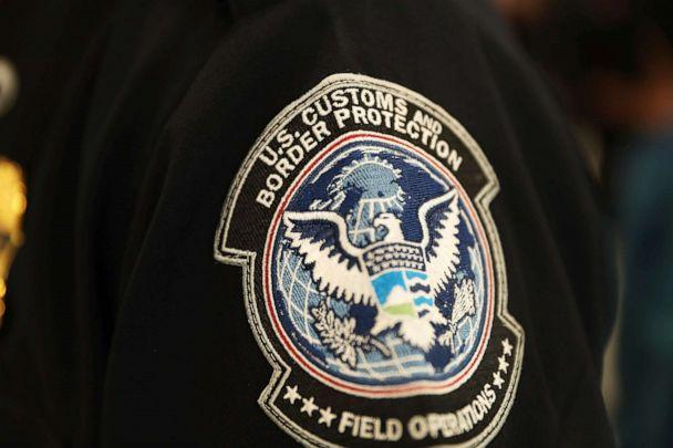 PHOTO: A patch is seen on the sleeve of a U.S. Customs and Border Protection officer at Miami International Airport in Miami, Feb. 27, 2018. (Joe Raedle/Getty Images, FILE)