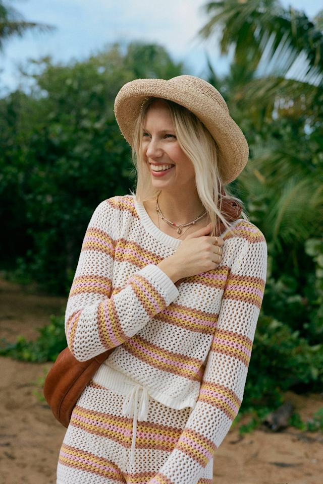"""<p><strong>Lack of Color </strong></p><p>anthropologie.com</p><p><strong>$129.00</strong></p><p><a href=""""https://go.redirectingat.com?id=74968X1596630&url=https%3A%2F%2Fwww.anthropologie.com%2Fshop%2Fmontana-straw-boater&sref=https%3A%2F%2Fwww.cosmopolitan.com%2Fstyle-beauty%2Ffashion%2Fg31225558%2Fsummer-hats-for-women%2F"""" target=""""_blank"""">Shop Now</a></p><p>The straw material is breathable and timeless; plus, the rolled brim means you'll actually be able to see, which is also important. </p>"""