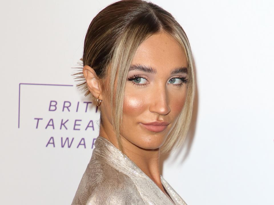 Megan McKenna attends the British Takeaway Awards held at the Savoy Hotel, The Strand in London. (Photo by Keith Mayhew / SOPA Images/Sipa USA)