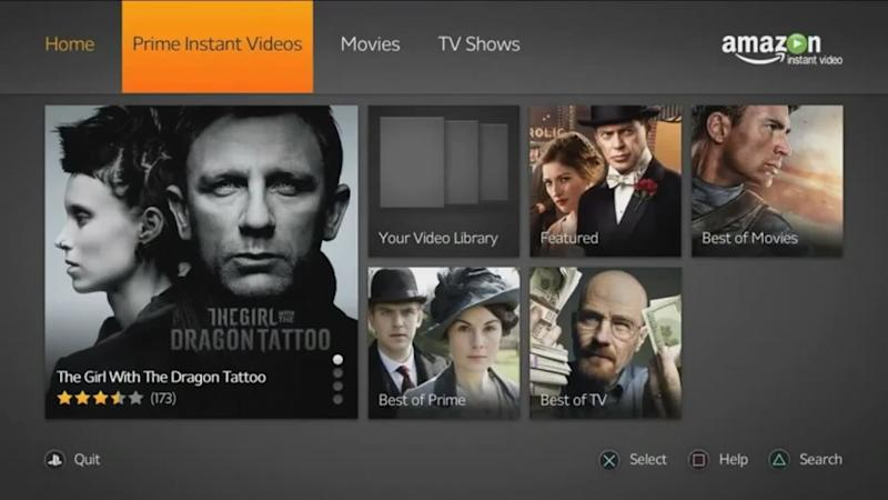 How to stream movies through amazon prime