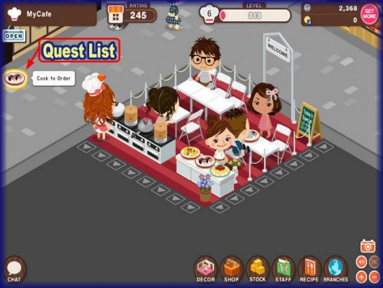 World Chef quests