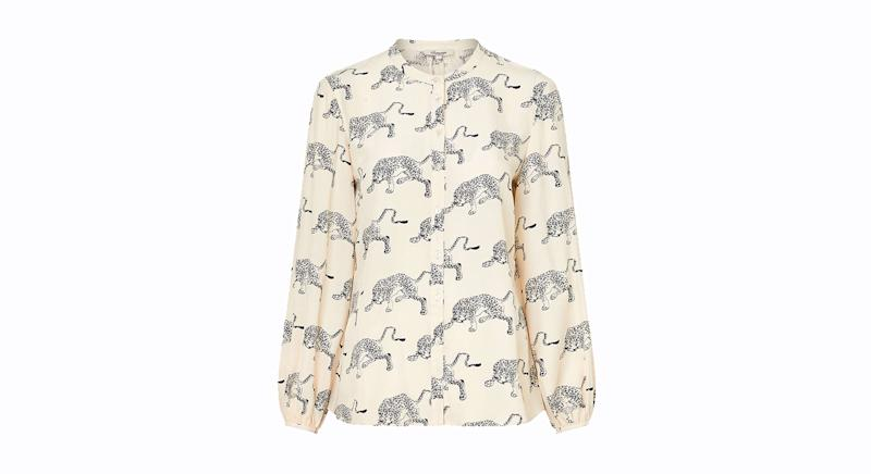 Somerset by Alice Temperley Cheetah Blouse