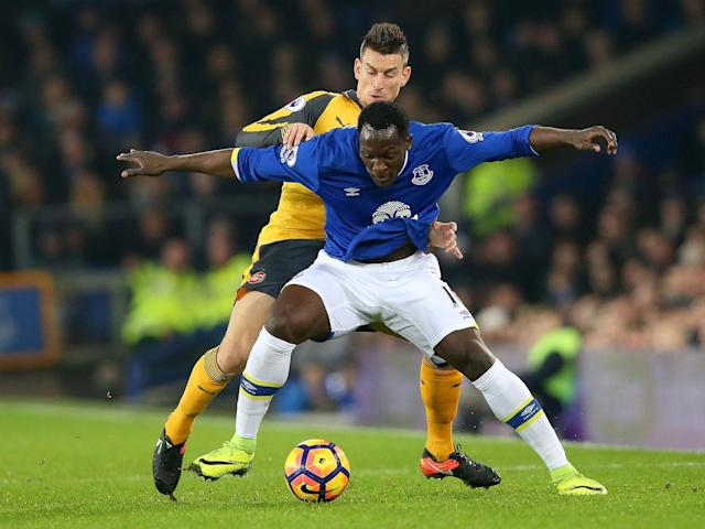 Romelu Lukaku named Laurent Koscielny as his most difficult opponent this season: Getty