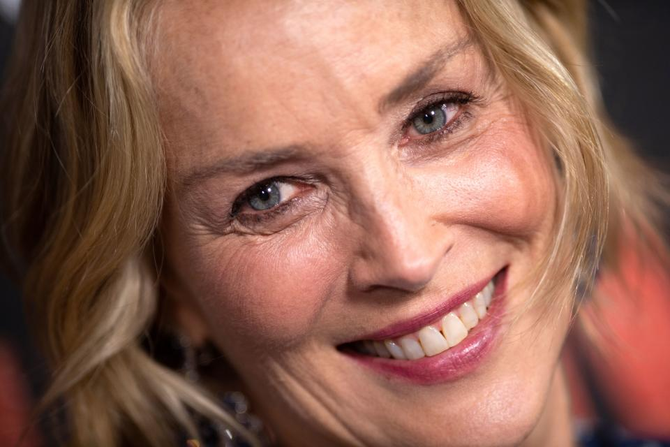 Actress Sharon Stone, 62, took to social media to share a sultry photo of herself. (Photo: VALERIE MACON/AFP via Getty Images)