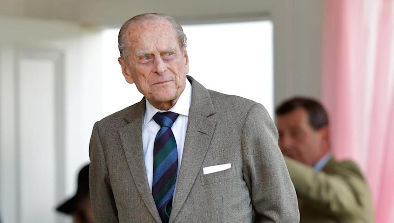 There's a Lot to Unpack in Prince Philip's New Portrait