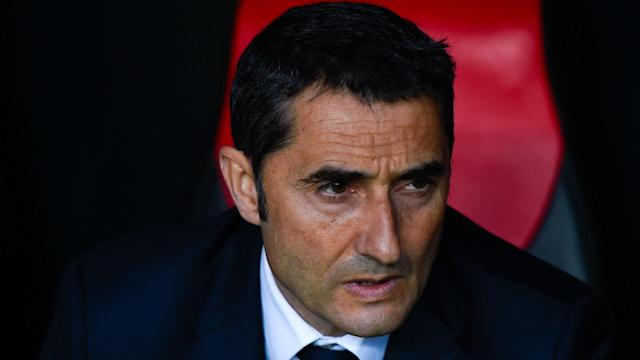 Speculation that Barcelona have requested permission from Athletic Bilbao to speak to Ernesto Valverde has been denied by the Blaugrana.