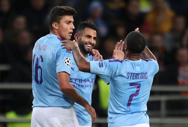 Manchester City coasted to victory at Shakhtar Donetsk