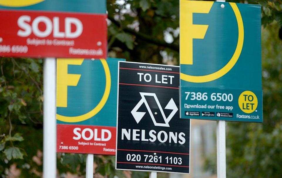 House prices and rents are on an upward trend amid a striking imbalance between demand and supply, according to the Royal Institution of Chartered Surveyors (Anthony Devlin/PA) (PA Archive)