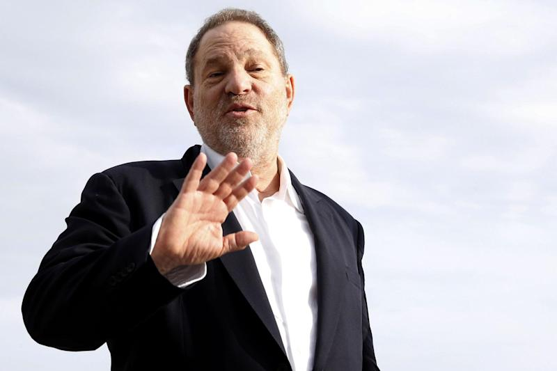 British police are investigating a sex assault allegation involving movie producer Harvey Weinstein (pictured): AFP/Getty Images