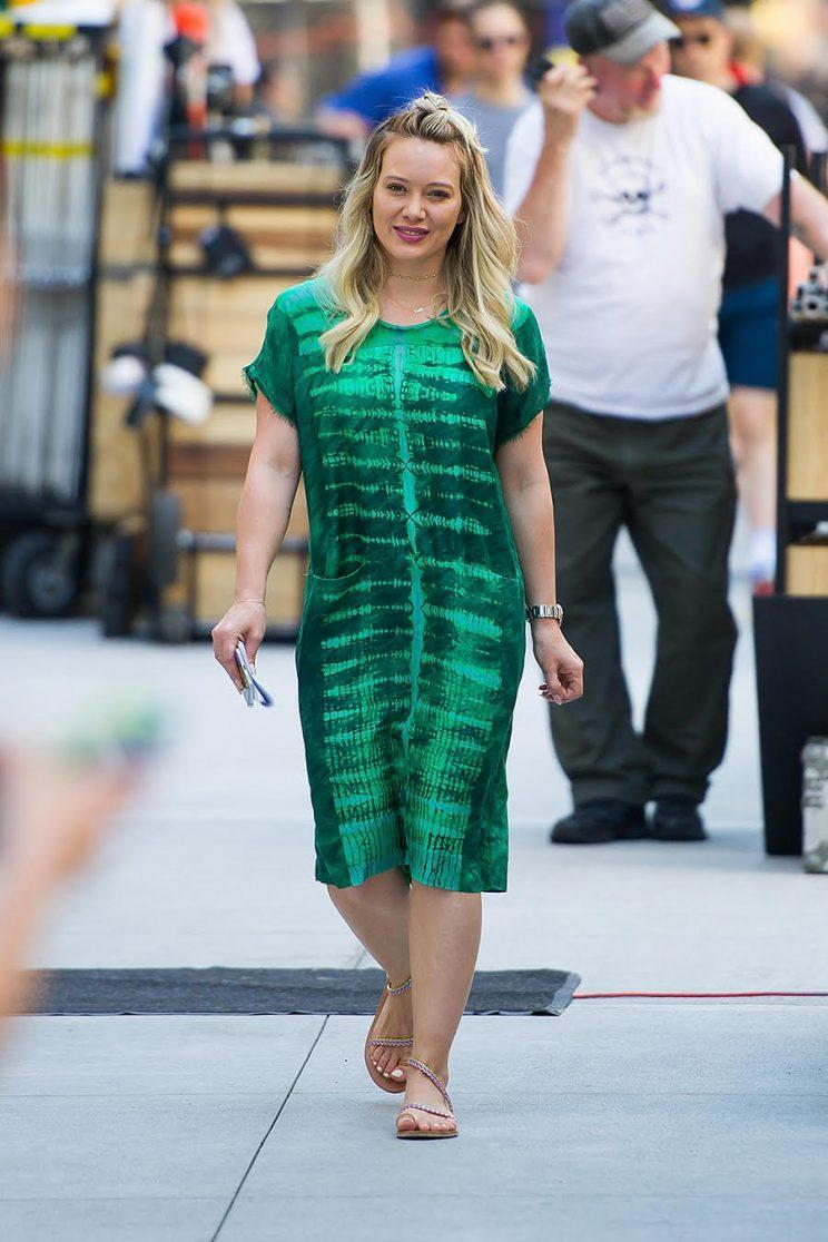 The green frock displays some more laid-back vibes. (Photo: Getty Images)