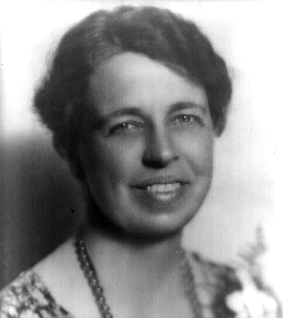 First Lady Eleanor Roosevelt (Library of Congress)