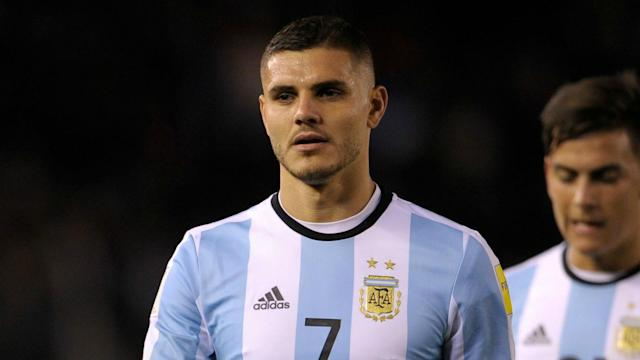 The Inter star had been included in the Albiceleste shortlist but is overlooked in favour of Paulo Dybala and Gonzalo Higuain up front