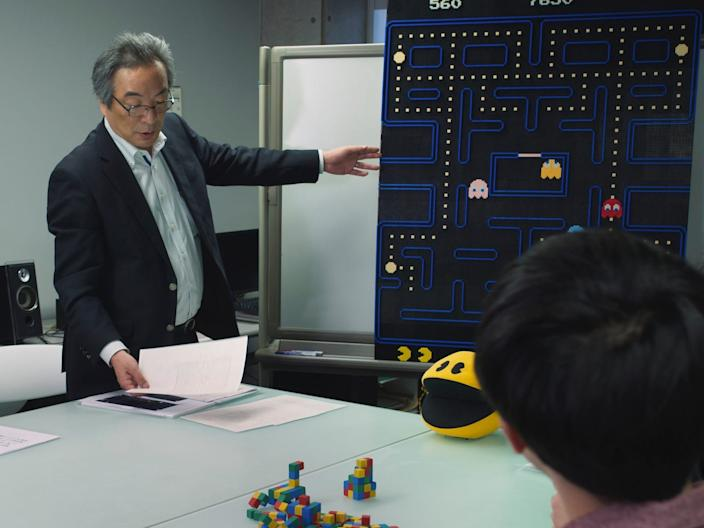 Toru Iwatani in episode 1 of HIGH SCORE on Netflix