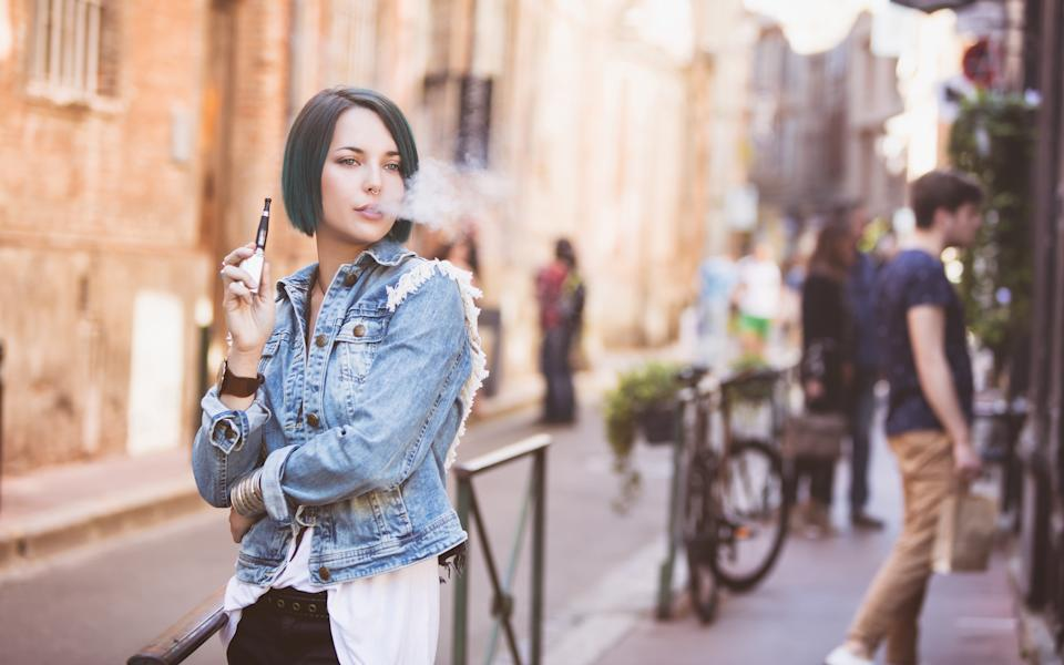 Just how safe is vaping? [Photo: Getty]