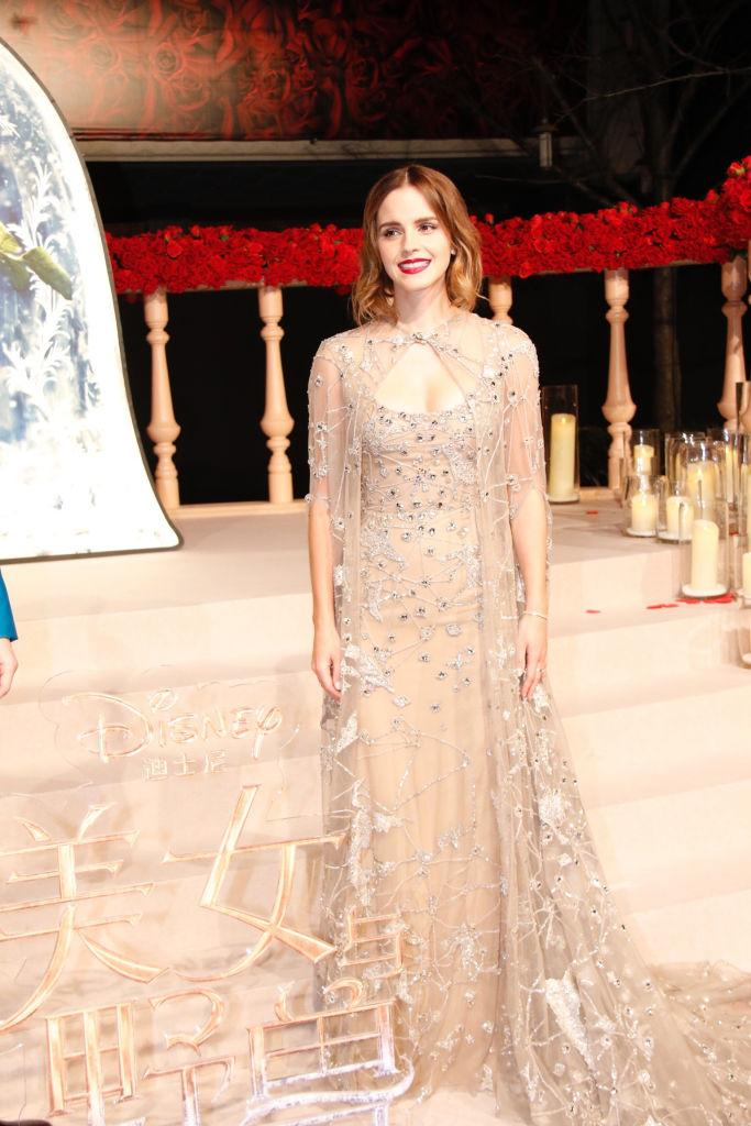 Emma Watson Just Wore the Best Dress That Wasn\'t at the Oscars