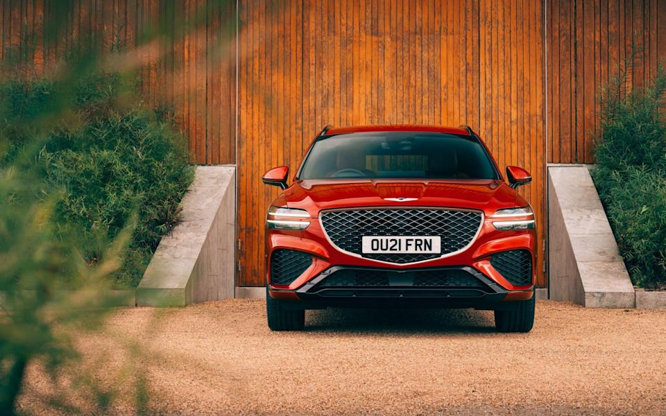 Good value: the GV70 might just be enough to make it worthy of a place at the school gates - Genesis