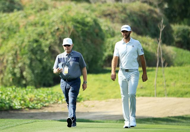 "<div class=""caption""> Winkle, agent to Dustin Johnson among other tour pros, says things are understandably quiet. </div> <cite class=""credit"">Andrew Redington/Getty Images</cite>"