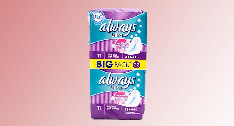 Always: The sanitary towel brand has changed its packaging to be more inclusive. [Photo: Getty]
