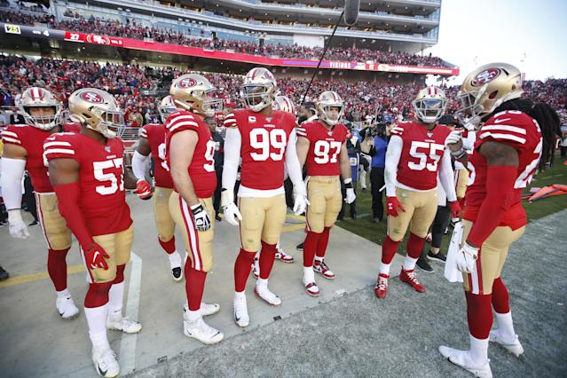 Will the 49ers squad dominate in 2020? (Photo by Michael Zagaris/San Francisco 49ers/Getty Images)