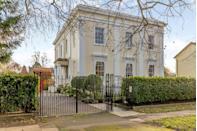 """<p>Ellingham House, which dates back to 1840, is situated on one of Cheltenham's finest residential areas. It's as grand as can be, with 13 bedrooms, 12 bathrooms, floor-to-ceiling windows, ample parking and picture-perfect gardens. </p><p><a href=""""https://www.knightfrank.co.uk/properties/residential/for-sale/pittville-lawn-cheltenham-gloucestershire-gl52/che012048750"""" rel=""""nofollow noopener"""" target=""""_blank"""" data-ylk=""""slk:This property is currently on the market for £2,500,000."""" class=""""link rapid-noclick-resp"""">This property is currently on the market for £2,500,000.</a></p>"""