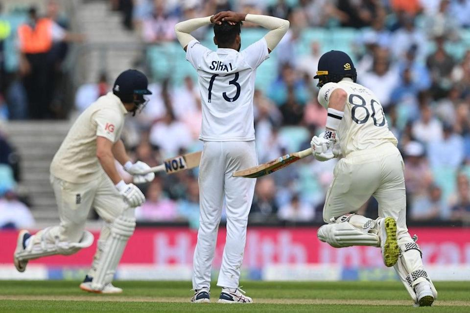 Pope and Jonny Bairstow put together a handy partnership (AFP via Getty Images)