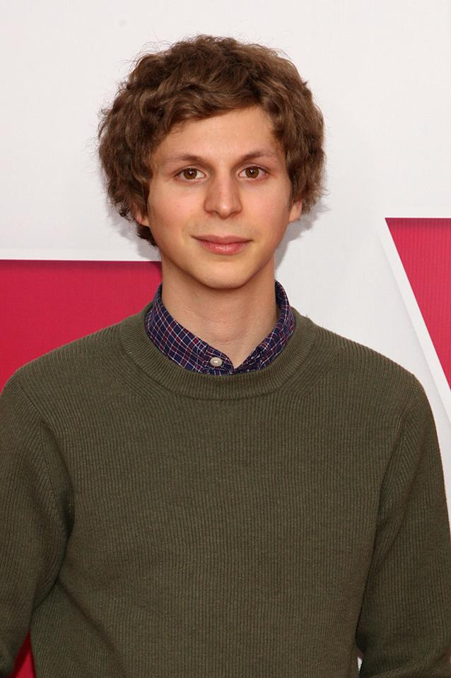 """<a href=""""http://movies.yahoo.com/movie/contributor/1800361491"""">Michael Cera</a> at the New York premiere of <a href=""""http://movies.yahoo.com/movie/1809981033/info"""">Year One</a> - 06/15/2009"""