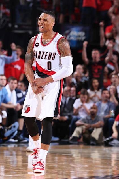 Damian Lillard is now the unquestioned face of the Blazers. (Sam Forencich/NBAE via Getty Images)