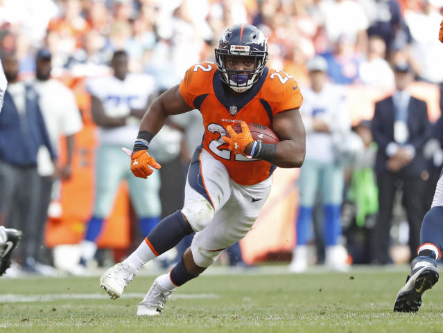 Denver Broncos running back C.J. Anderson will play against the Oakland Raiders this week. (AP)