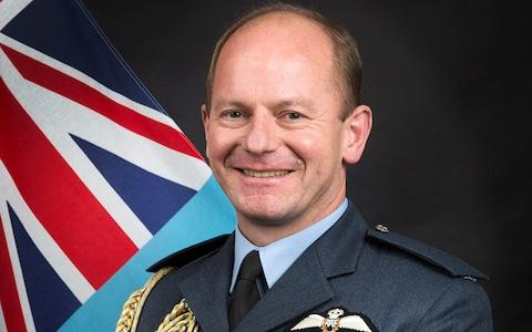 Air Chief Marshal Michael Wigston, the author of the report into inappropriate behaviour in the Armed Forces.