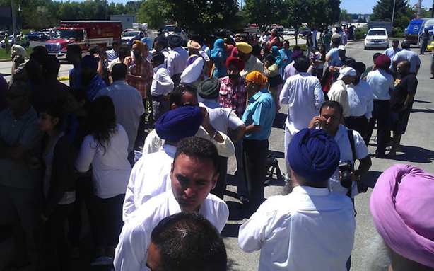 Developing: Mass Shooting at Sikh Temple in Wisconsin