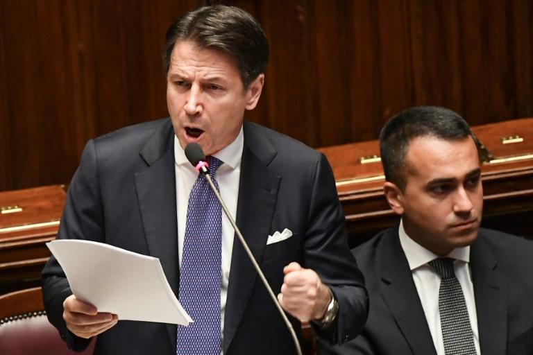 Italy's Prime Minister Giuseppe Conte urged the EU to reform the strict rules limiting deficits (AFP Photo/Andreas SOLARO)
