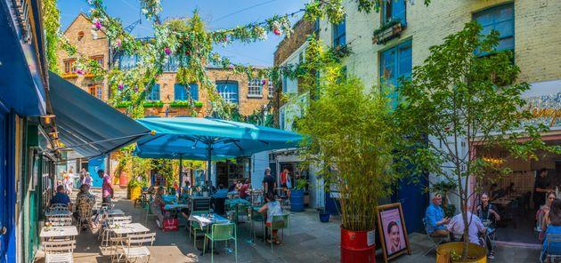 Neal's Yard, Covent Garden (Photo: fotoVoyager via Getty Images)