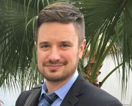 Handout photo of Michael Sharp, an American investigator for the United Nations, found murdered this week in the Democratic Republic of the Congo, is shown in this photo taken in Goma, Democratic Republic