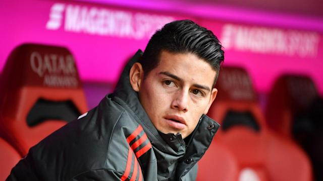 New Colombia coach Carlos Queiroz hopes to see James Rodriguez playing regularly for Bayern Munich.