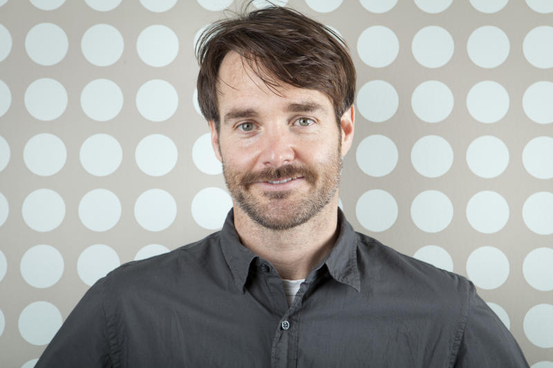 """This April 19, 2013 photo shows actor Will Forte in New York. Forte, a cast member on """"Saturday Night Live,"""" stars in his first dramatic role in  """"Run and Jump,"""" a film being shown at the TriBeca Film Festival. (Photo by Amy Sussman/Invision/AP)"""