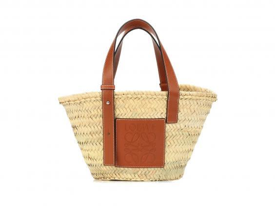 Bring the beach to you with this handwoven bag (Mytheresa)