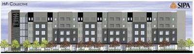 Search to Involve Pilipino Americans (SIPA) debuts an official rendering of HiFi Collective, a mixed-use development offering affordable housing, a community center, and new headquarters for SIPA in Historic Filipinotown. HiFi Collective will house the John Eric Swing Small Business Center, for which funds are being raised at SIPA's 48th Annual Benefit: Vision for Tomorrow. The star-studded virtual gala will air on Saturday, October 10, at 5PM PT. For more info or to donate, visit sipacares.org.