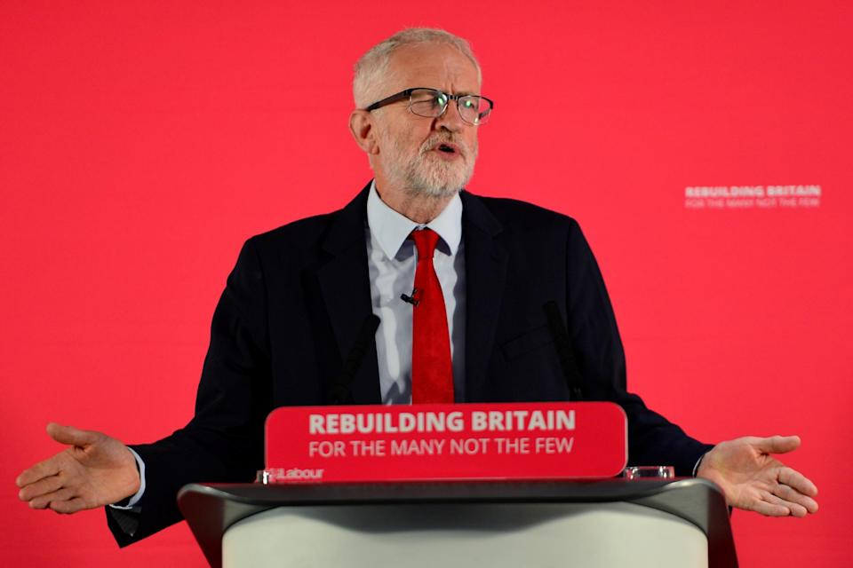 <p>Former Labour leader Jeremy Corbyn</p> (Getty Images)