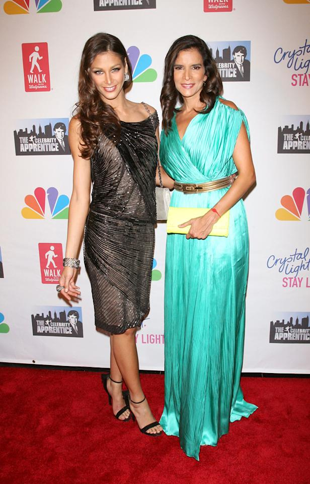 """Dayana Mendoza and Patricia Velasquez attend the """"Celebrity Apprentice"""" Live Finale at American Museum of Natural History on May 20, 2012 in New York City."""