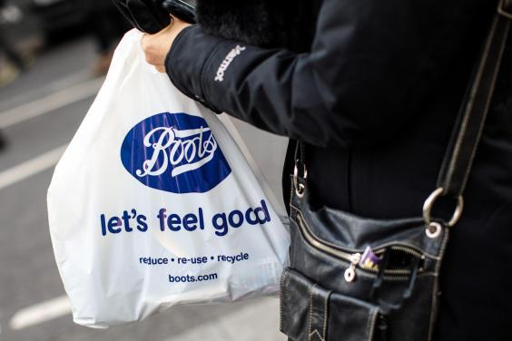 UK Government Proposes Higher Plastic Bag Charge (Getty Images)