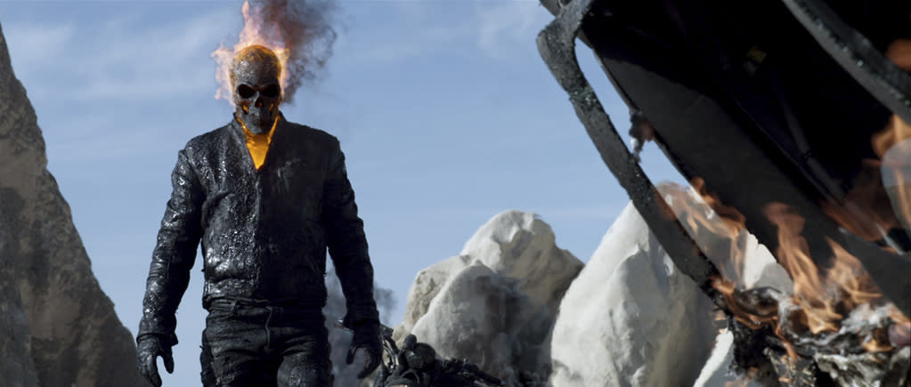 Columbia Pictures' Ghost Rider: Spirit of Vengeance - 2012
