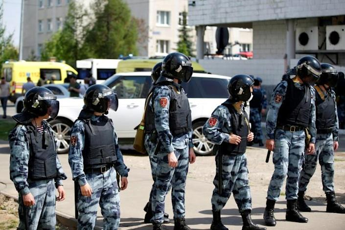 Russia has relatively few school shootings due to normally tight security in education facilities and the difficulty of buying firearms legally