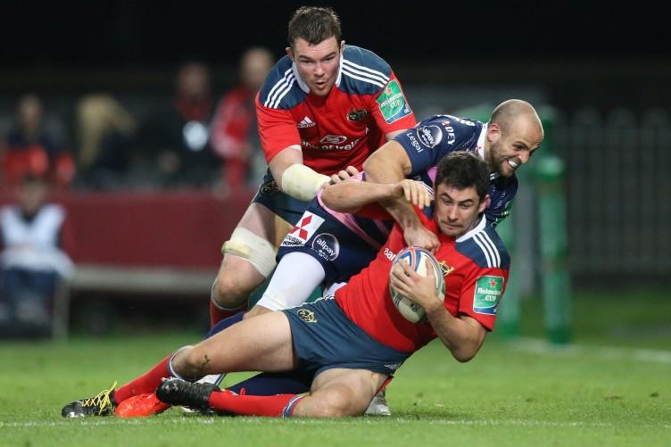 Munster planning for Glasgow without Felix Jones