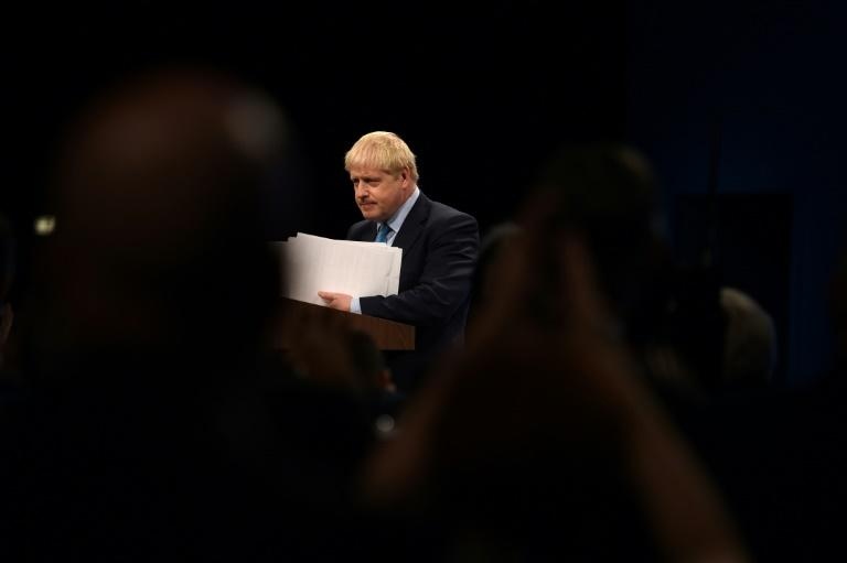 Johnson's foes are forging new alliances and trying to attach amendments (AFP Photo/Oli SCARFF                          )