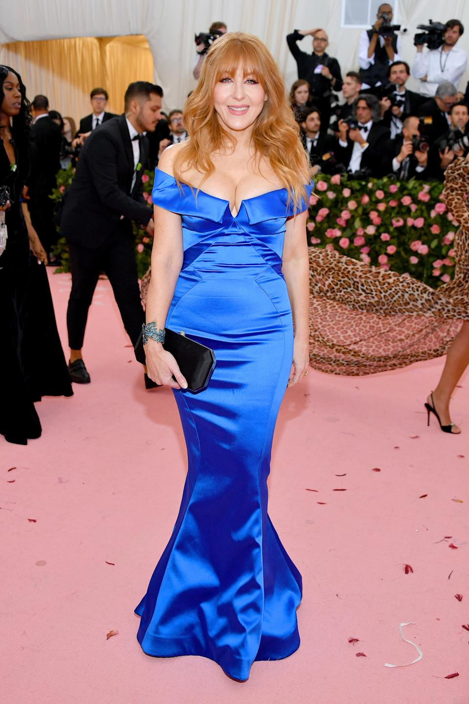 """<h1 class=""""title"""">Charlotte Tilbury in Zac Posen</h1><cite class=""""credit"""">Photo: Getty Images</cite>"""