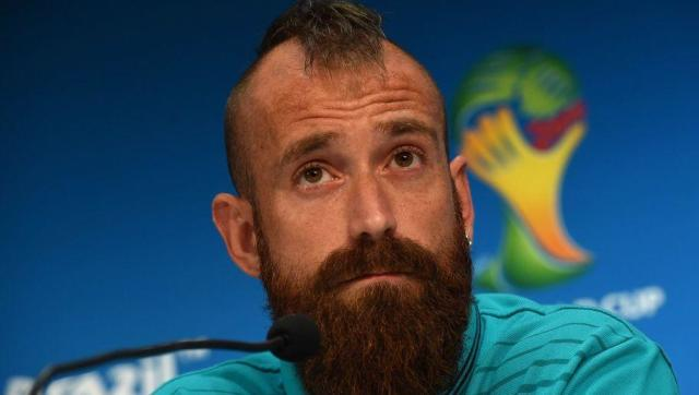 <p>Football appears to be an unwanted distraction from Raul Meireles' true calling of being a tattoo artist.</p> <br><p>While using 90% of his hair allowance on his beard has left his head looking a bit barren, he has used his love of tattoos to cover every inch of the rest of his body.</p> <br><p>Meireles now looks less like a footballer and more like a hipster style icon, a role that he will surely take on full-time after his retirement.</p>