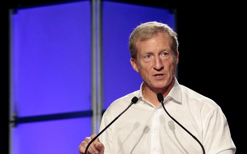 American environmentalist Tom Steyer - REUTERS