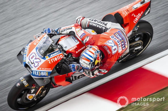 """2018. Andrea Dovizioso <span class=""""copyright"""">Gold and Goose / Motorsport Images</span>"""