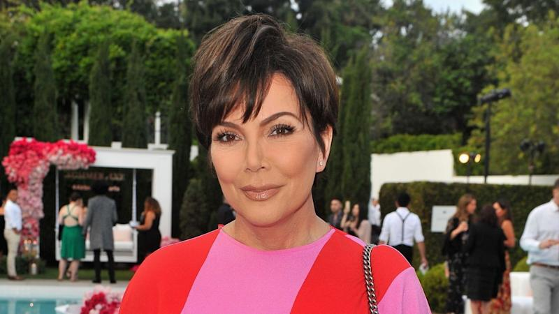 Kris Jenner Reacts to Woman Leaving Kylie's Birthday Party on a Stretcher